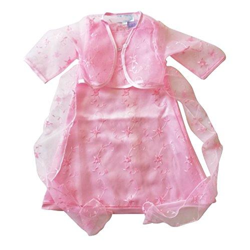 Seruna Tauf-Kleid L07 Gr. 80/86 Baby-Kleider für Mädchen zur Taufe u. Hochzeit Geschenk-e für Babies