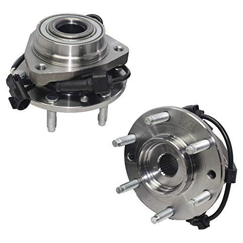 Detroit Axle - Front Wheel Bearing Hub Assembly for Chevy Trailblazer Isuzu Ascender Olds Bravada GMC Envoy Buick Rainier w/ABS - 513188