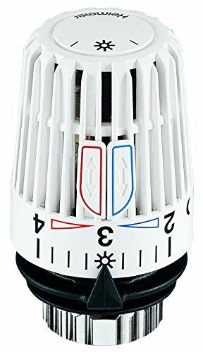 2 X Heimeier Thermostat-Kopf Typ K Nr. 6000-00, weiß, 6000-00.500