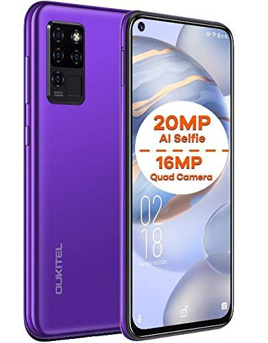 Cellulari Offerte OUKITEL C21, Android 10 Smartphone Dual SIM, Selfie AI 20 MP + Fotocamera Quattro...
