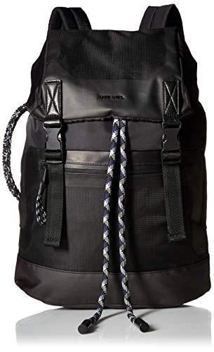 Diesel Herren SUSEGANA SUSE BACK - backpack Rucksäcke, schwarz/schwarz, Einheitsgröße