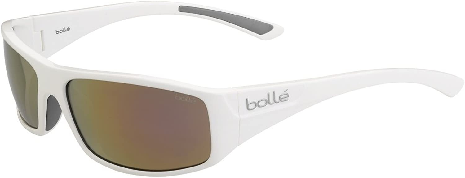Bolle Weaver Sunglasses, Small, pink gold, Shiny White