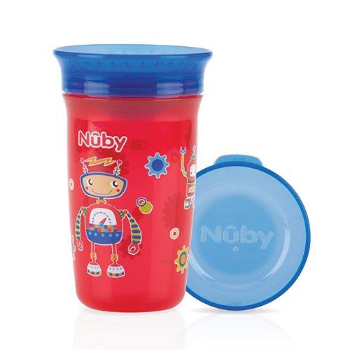 Nûby - Gobelet Magique 360° - 300ml - 6 mois -  Rouge