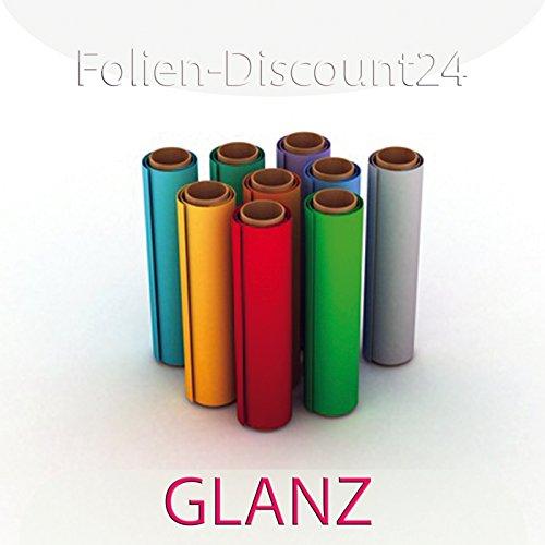 F-D24 reclamebord, gekleurde zelfklevende folie, glanzend donkergroen, 60 cm x 200 cm top! | Plakfolie decoratiefolie plotterfolie knutselfolie | XXL-formaat meubelfolie