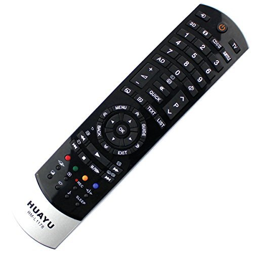 Ersatz Fernbedienung Toshiba LED LCD TV CT-90388 / CT90388 / 75026949 Remote - frustfreie Bedienung
