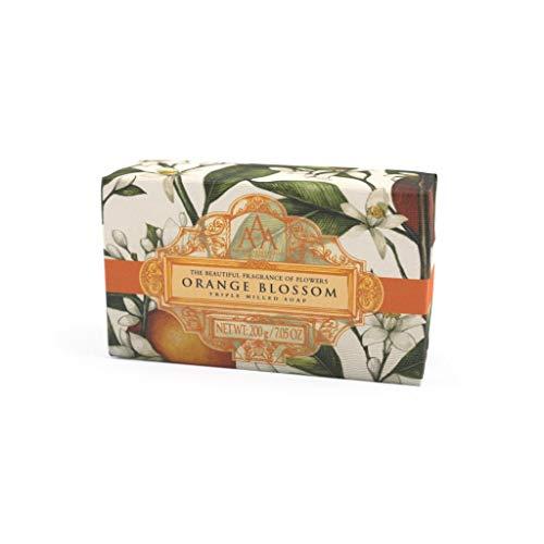 Aromas Artesanales De Antigua Floral Orange Blossom Triple Milled Soap 200g