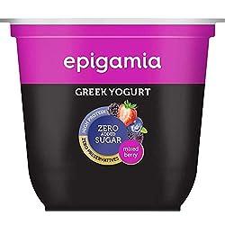 Epigamia Greek Yogurt Mixed Berries- No Added Sugar, 120 g