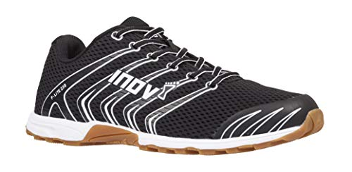 Inov-8 F-Lite 230 - Minimalist Cross Training Shoes - Classic Model - Black/Gum 8 M US