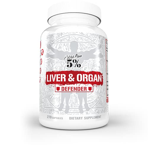 Rich Piana 5% Nutrition Liver & Organ Defender, On Cycle Support for...