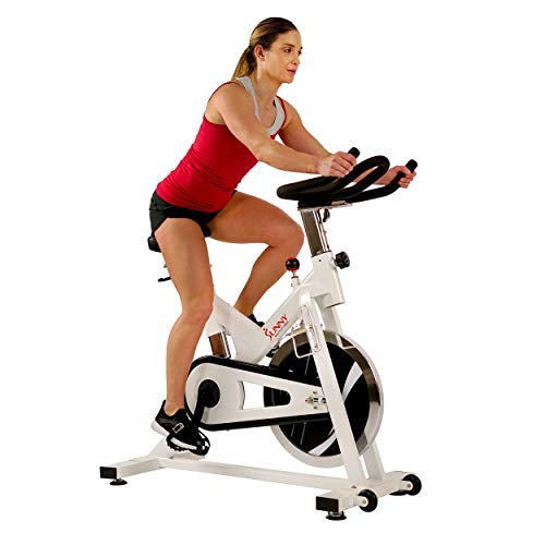 Sunny Health & Fitness Indoor Spin Bike Exercise Stationary Cycle Bike - SF-B1110