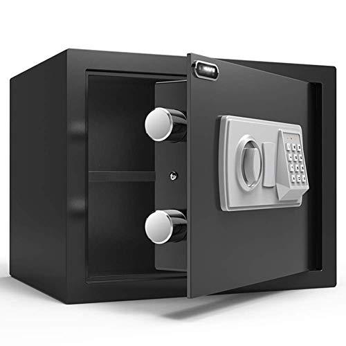Caja fuerte de seguridad, Caja fuerte de seguridad digital electrónica, Caja fuerte con contraseña de acero, Resistente al fuego a prueba de agua para la oficina en casa Hotel Joyas Medicamentos en e