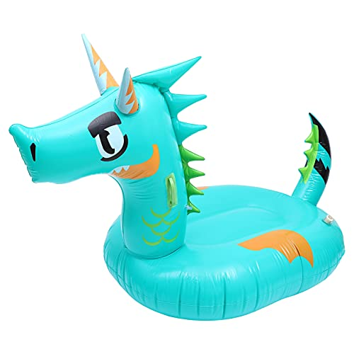 TOYANDONA Inflatable Dragon Pool Float Swimming Pool Toy Inflatable Ride- ons Pool Raft for Adults...