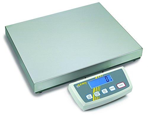 KERN wipe60dl Serie de-d Zahlungsbilanz Plattform, 522mm Länge x 403mm Breite x 90mm Höhe, 30/60kg Bereich-Wägezelle Skala, 10/20g