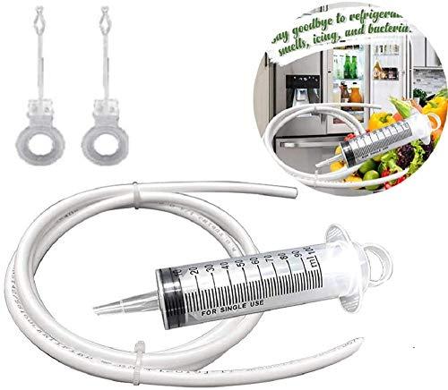 QTYJS Kühlschrankablasslochentferner, Unblocker Flexible Cleaner Wiederverwendbares Haushaltsschlauchwerkzeug