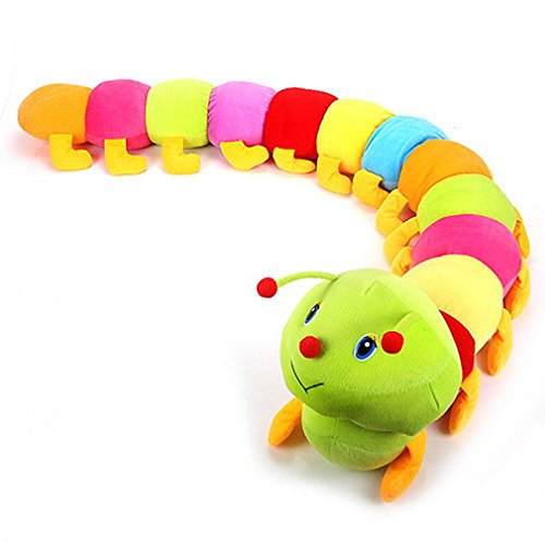 Hengsong 55cm Jouets pour enfants Coloré Bug Chenilles du Millénaire Poupée Jouets en Peluche Hold Oreiller Doll