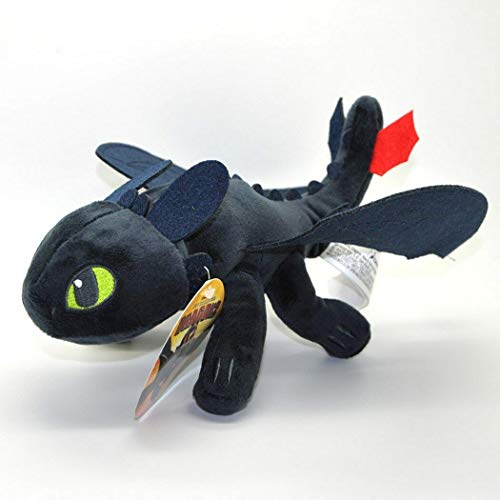 HUGE 17' How to Train Your Dragon Toothless Night Fury Plush Toy Soft Stuffed Animal Dolls