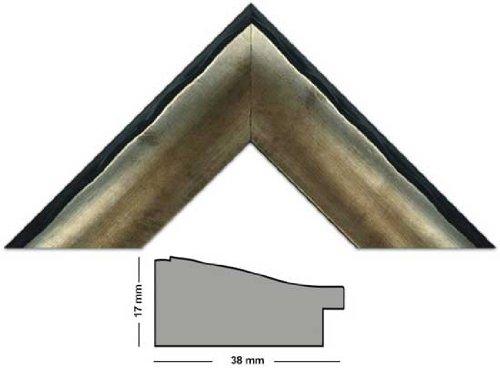 Bilderleiste 573 NP/OROgold mit schwarzer Rückenkante