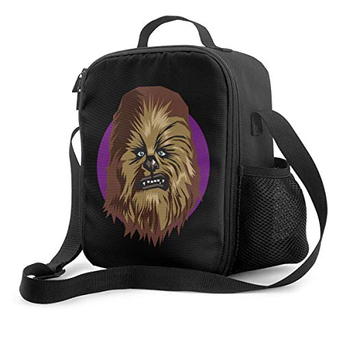 Reusable Insulated Lunch Bag With Adjustable Shoulder Strap - Chew-Bacca Peter May-Hew1 Office Work Picnic Hiking Beach School Lunch Box Cooler Tote Bag For Kids Women,Men