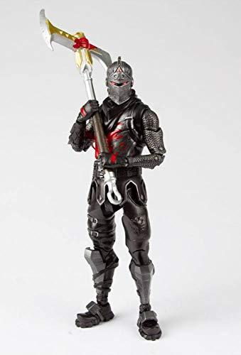 Fortnite - Action figure di cavaliere nero, 18 cm