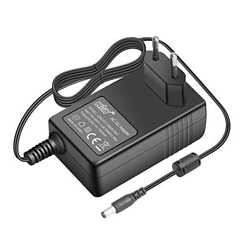 HKY 24V 1.5A 1A Adaptador de Cargador para Robot Vileda M-448A A3 C8, Vileda M-488A, Robot Vileda Relax Cleaning 142861,Mini TV, Cable módem,Teclado de piano electrónico, DVR Sistema de vigilancia NVR