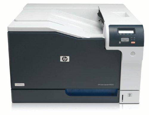 HP Color Laserjet Enterprise CP5225N (CE711A) A3 Farblaserdrucker (Ethernet, USB, 600 x 600 dpi) schwarz/weiß