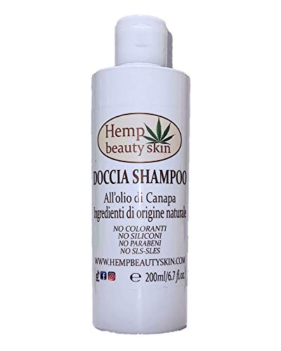 Hemp Oil Shower Shampoo