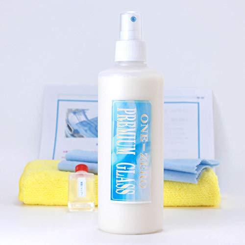 プレミアム ガラスコーティング剤 300ml 超光沢&超撥水 ONE-ZERO 全色対応 純国産