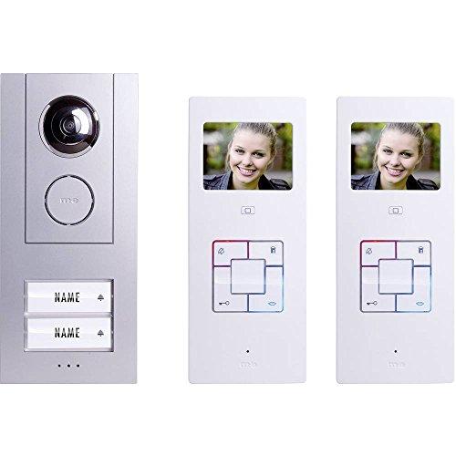 m-e Vistus VD-6320-3,5 Pulgadas Monitor 2-Family House Video-Portero Automático De Juego Completo