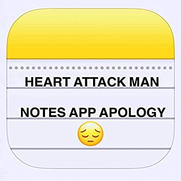Notes App Apology