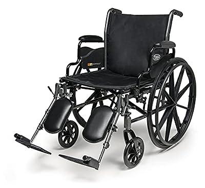 "Everest & Jennings Traveler L3 Plus Wheelchair, Lightweight Adult Use, 20"" Seat from Graham-Field"