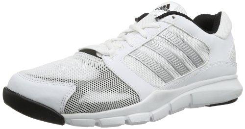 adidas Essential Star M D66611 Herren Hallenschuhe, Weiß (running white/matte silver/black), EU 40 (UK 6.5)