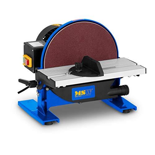 MSW Tellerschleifer Tellerschleifgerät mit Staubabsaugung MSW-DS550 (550 W, 1.750 U/min, Ø 250 mm, Arbeitsfläche 300 x 140 mm, neigbar 45°)
