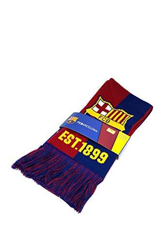 Icon Sports FC Barcelona Schal, offizielles Lizenzprodukt, rot, Einheitsgröße