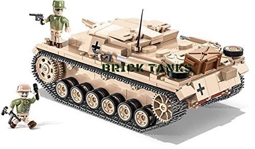 COBI Maqueta Tanque STURMGESCHÜTZ III AUSF.D. Historical Collection. Mod 2529