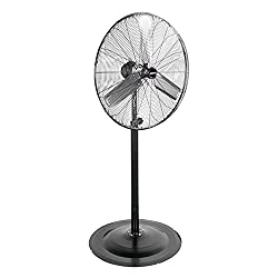 powerful OEMTOOLS OEM24873 Fixed Base 30 Inch Fast Fixed Fan, New   7250 Cubic Feet Per Minute…