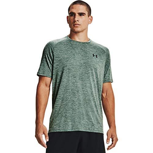 Under Armour Men's Tech 2.0 Short-Sleeve T-Shirt , Toddy Green (371)/Black, X-Large