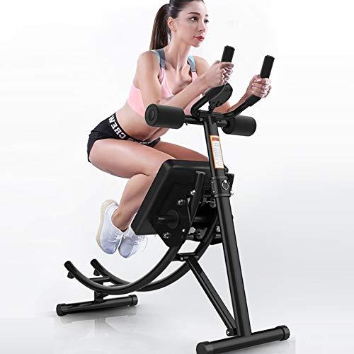 Pumpink Abdominal máquina de la belleza de la cintura del abdomen de la máquina del músculo abdominal entrenador plegable de cintura fina de la máquina AB Rocket Roller Coaster deslizante interior del
