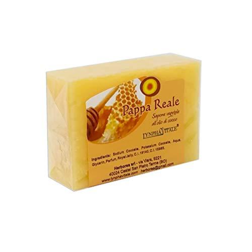 Natuurlijke zeepstaaf - Zuivere plantaardige Royal Jelly Zeep - Anti-verouderingszeep voor droge en gevoelige huid - Geschikt voor kinderen - Handgemaakte Italiaanse zeep