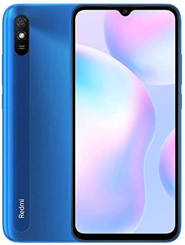 """Xiaomi Redmi 9A - Smartphone 2GB 32GB, Pantalla HD de 6.53"""",MediaTek Helio G25, batería 5000mAh, Cámara Trasera de 13MP Al, Azul [Versión ES/PT]"""