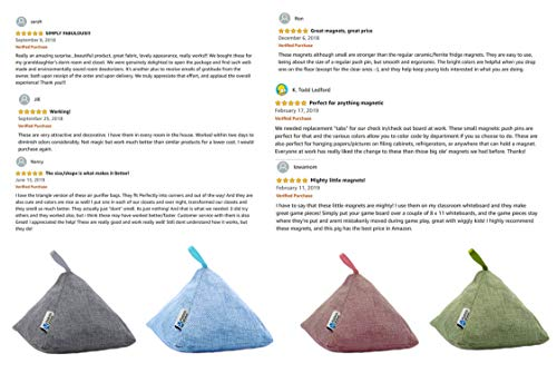 4 Pack of 200g Naturally Activated Bamboo Charcoal Air Purifying Bags | Natural Home Deodorizer Bags | Organic, Eco… 8 SUPER STRONG ACTIVATED BAMBOO BAGS – Products4Future air deodorizer bags are TOP quality and efficient. 4 times better than regular charcoal as each natural air purifier bag contains activated charcoal from sustainable Moso bamboo processed with high temperature oxygen-free carbonization. These bamboo bags are the best choice for cleaning air and remove odor. SUPER STRONG ACTIVATED BAMBOO BAGS – Products4Future air deodorizer bags are TOP quality and efficient. 4 times better than regular charcoal as each natural air purifier bag contains activated charcoal from sustainable Moso bamboo processed with high temperature oxygen-free carbonization. These bamboo bags are the best choice for cleaning air and remove odor. ECO-FRIENDLY & LONG LASTING – 100% natural organic and chemical free odor absorbing bags have an anion charge and a porous structure. With that deodorizer bags eliminate odors instead of covering odor. For the best results expose bamboo bags to the sun for 1-2 hours every month, which can remove the odor absorbed and moisture trap inside activated bamboo bags and maintain the adsorption of natural air freshener bamboo charcoal bags. After 2 years you can recycle them in your garden.