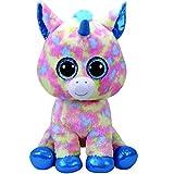 TY - Beanie Boo's Blitz, peluche unicornio, color azul, 40 cm (United Labels Ibérica 36890TY) , color/modelo surtido