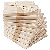 Handi Stitch Palos de Helado para Manualidades (Pack de 1000) Palitos de Madera 11 x 1 cm - Palitos Helado Suave Jumbo para Proyectos de Arte, Manualidades, Etiquetar Plantas Jardín