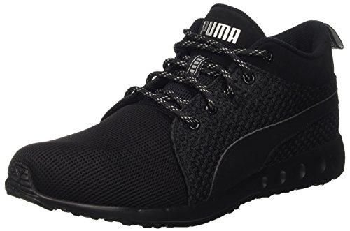 Puma Unisex-Erwachsene Carson Runner Mid EEA Laufschuhe, Schwarz Black Silver 01, 42.5