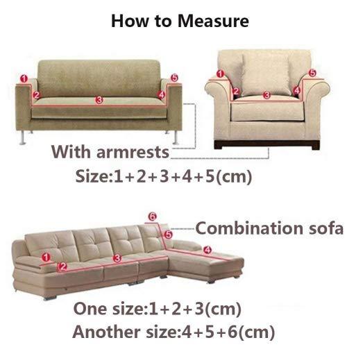 Copridivano in spesso velluto elastico, fodera protettiva da divano, aderente e facile da mettere, in tessuto elasticizzato, Black, 3 Seater:195-230cm