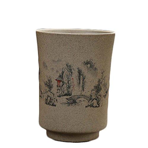 Wukong Paradise Tazas de té Retro de Estilo japonés Tazas de té de cerámica Gruesa_A5