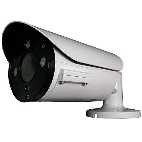 101AV 1080P True Full-HD Security Bullet Camera 4 in 1(TVI, AHD, CVI, CVBS) 2.1Megapixel CMOS Image Sensor 2.8-12mm Variable Focus Lens Auto Iris IR in/Outdoor WDR OSD Camera 12VDC/24VAC(White)
