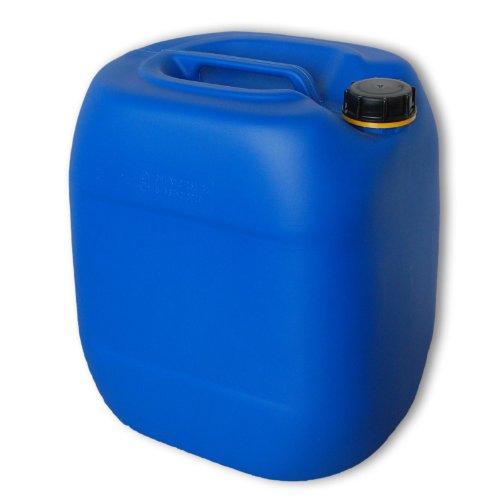 Bidon – Jerrican 30 L, HDPE Bleu, ouverture DIN 61 qualité alimentaire (22027)