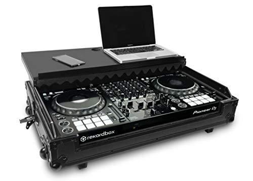 Audibax Flight Case PRO-1000 | Maleta para Controladora DJ | Pioneer DDJ-1000 | Compacta, Segura y Cómoda | Laptop y Ruedas Incluido | Especial para Viajes | Uso Profesional | Acabado Interno en Foam