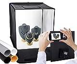 Tienda de Fotos | Mini Light Box Store | Pop Up Portable Light Cube Fotografía Shooting K...