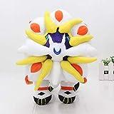 XIAN Qinhuang Solgaleo Pokemon Plush Toys 30Cm Soft Stuffed Legendary Sun and Moon Doll Birthday Gifts for Children hailing